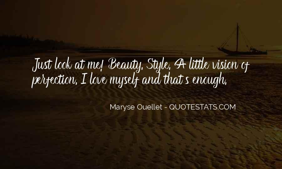 Quotes About Perfection And Beauty #1477365