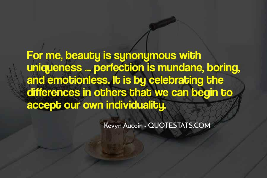 Quotes About Perfection And Beauty #1702928
