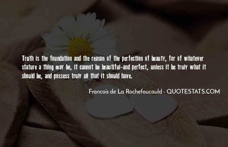 Quotes About Perfection And Beauty #1708607
