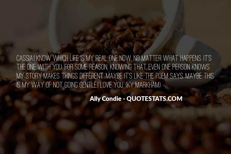 Quotes About Knowing The Person You Love #1143778