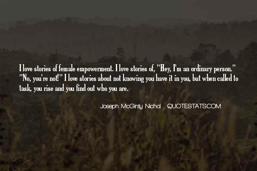 Quotes About Knowing The Person You Love #1146032