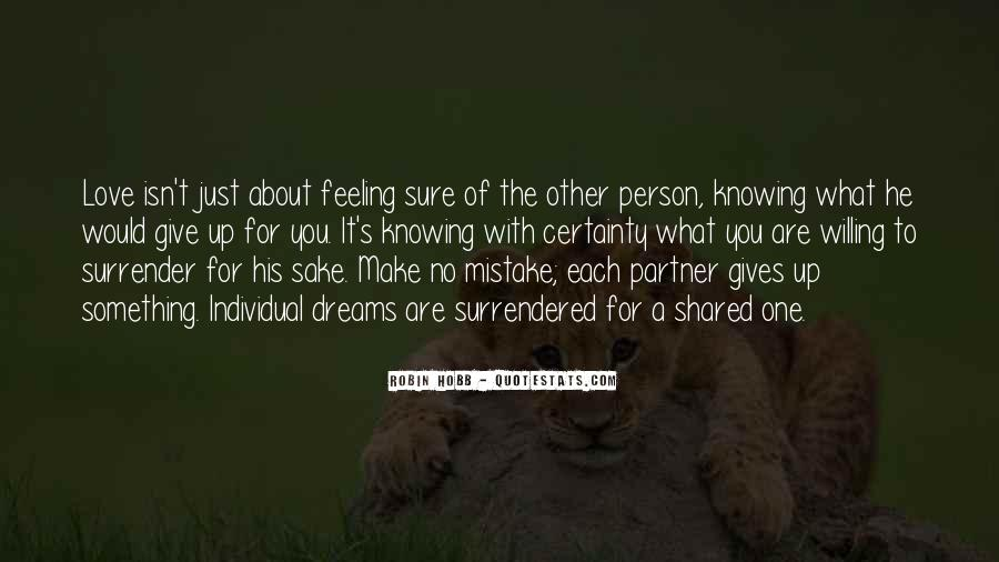 Quotes About Knowing The Person You Love #1181020