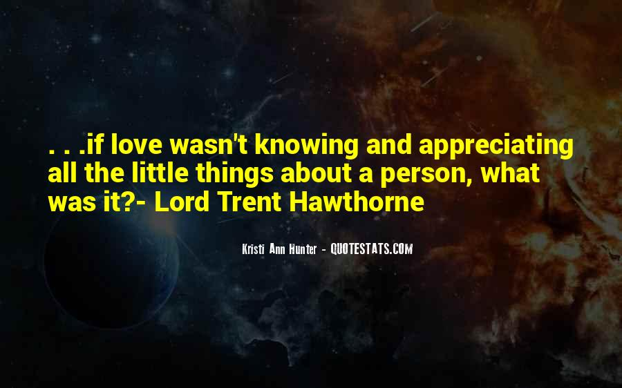 Quotes About Knowing The Person You Love #1381545