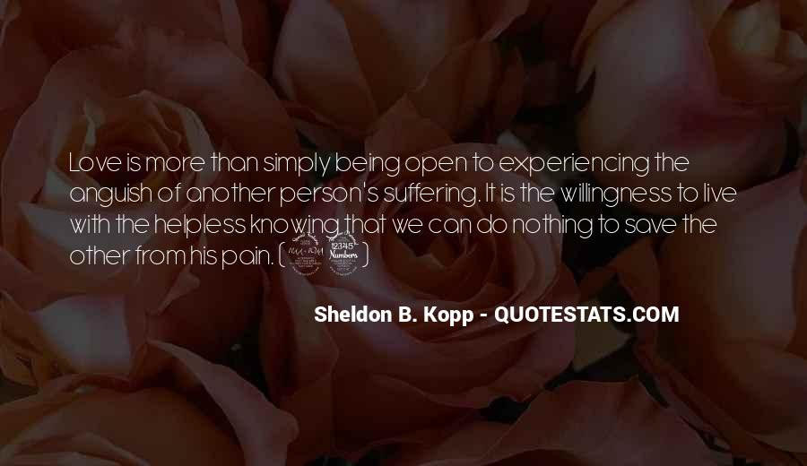 Quotes About Knowing The Person You Love #1691534