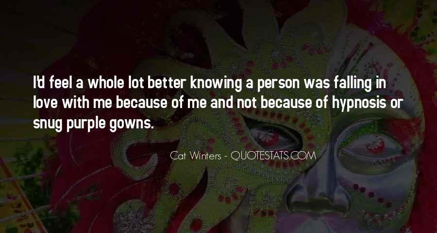 Quotes About Knowing The Person You Love #666396
