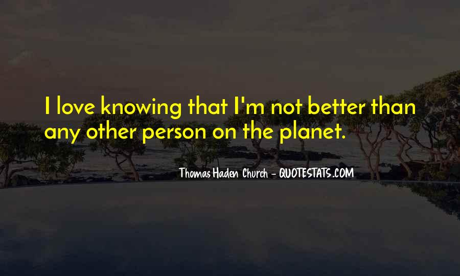 Quotes About Knowing The Person You Love #902961
