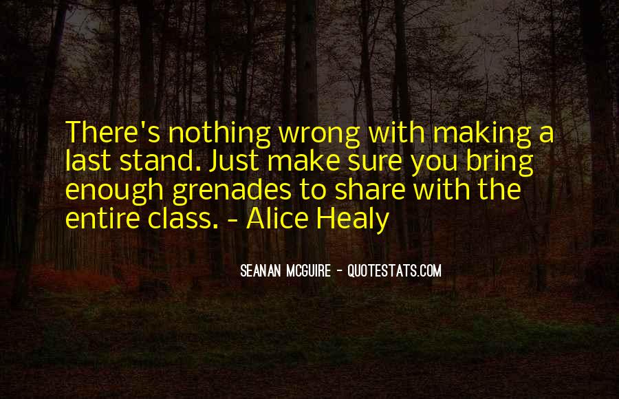 Quotes About Grenades #1129979