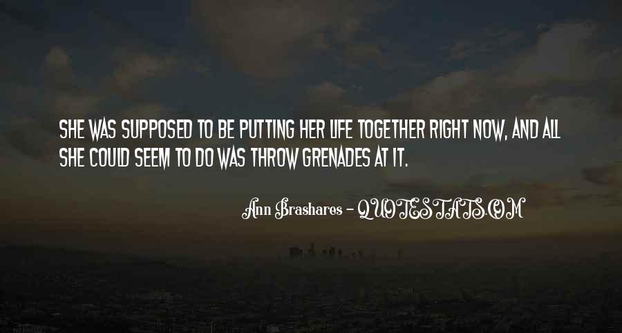 Quotes About Grenades #1141030