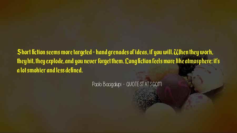Quotes About Grenades #1226971