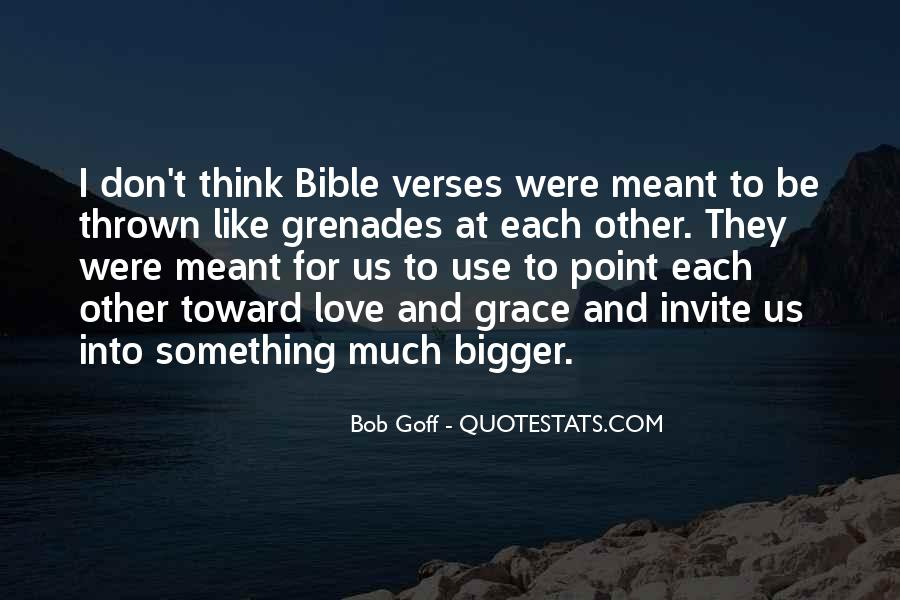 Quotes About Grenades #15306