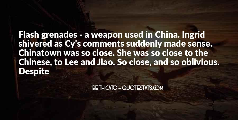 Quotes About Grenades #1722426