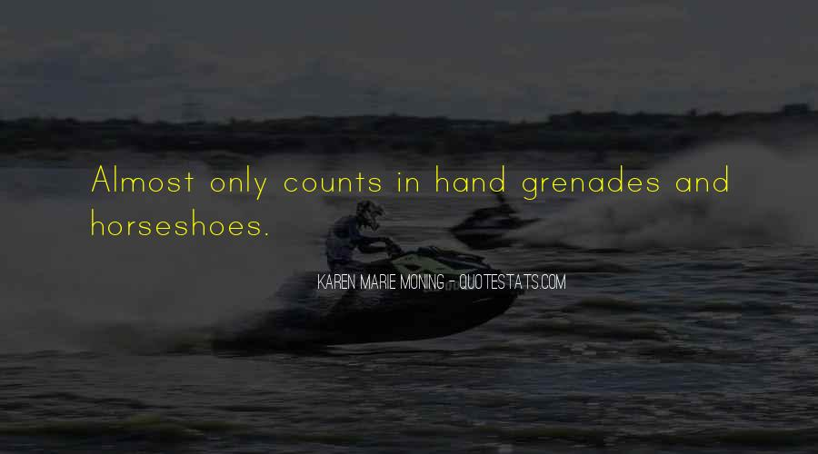 Quotes About Grenades #1764983