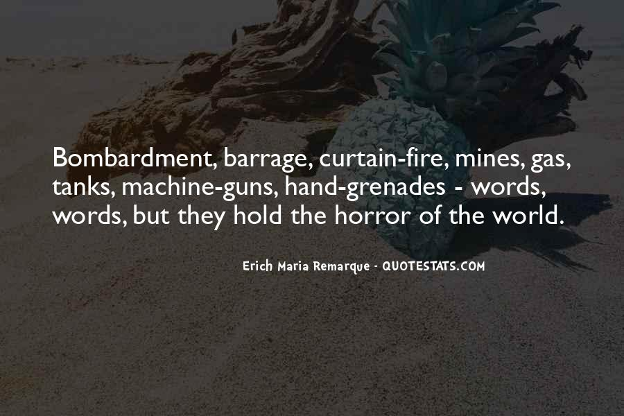 Quotes About Grenades #610318