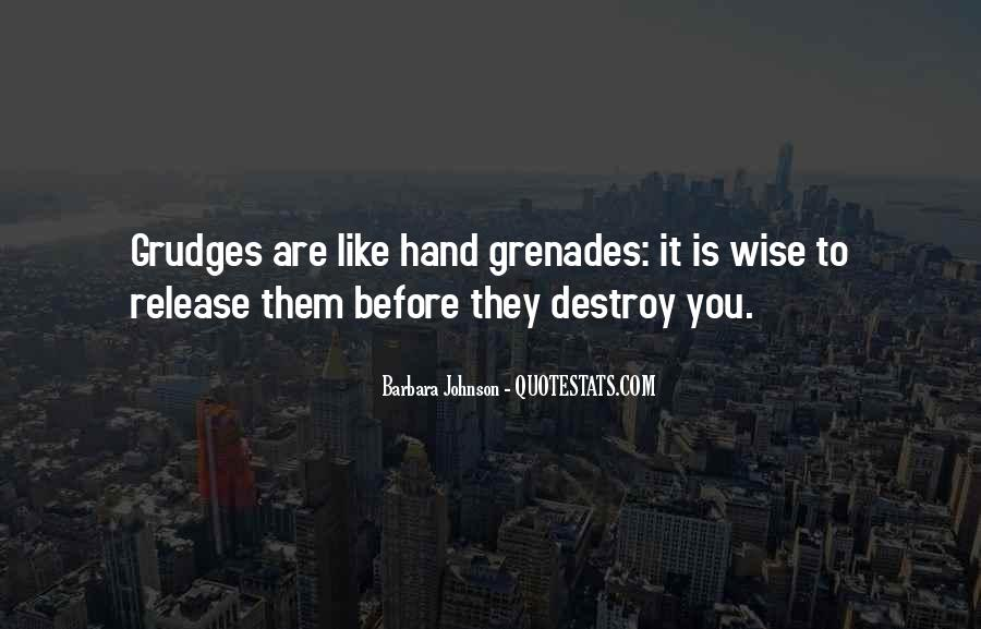 Quotes About Grenades #915812