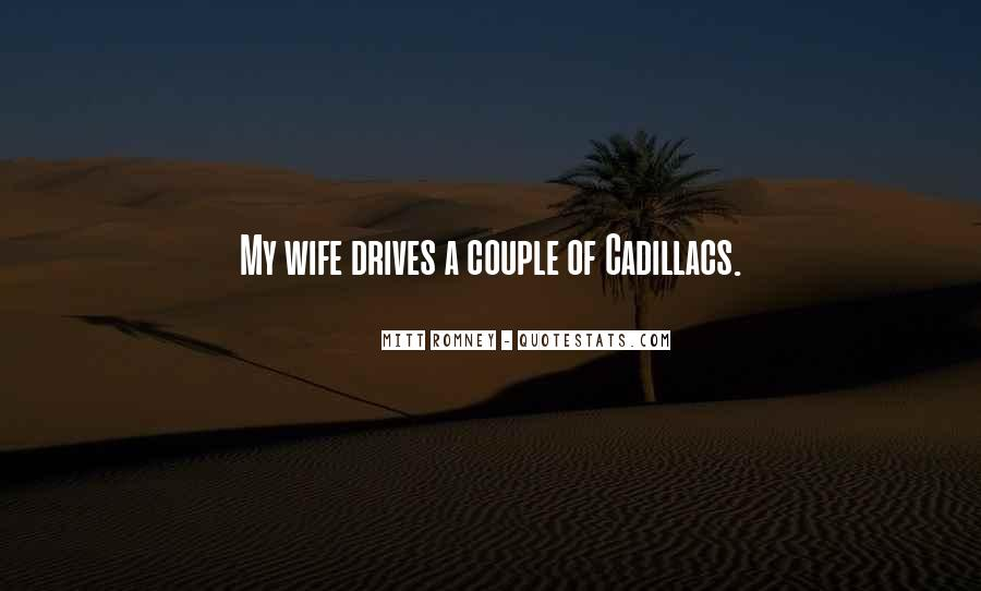 Quotes About Cadillacs #175979