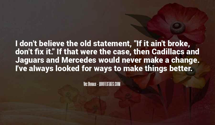 Quotes About Cadillacs #264151