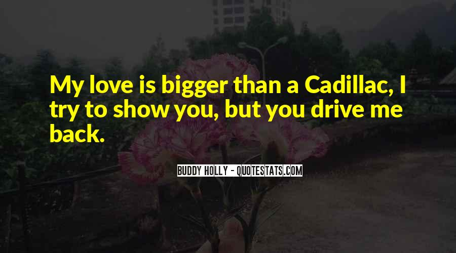 Quotes About Cadillacs #804276