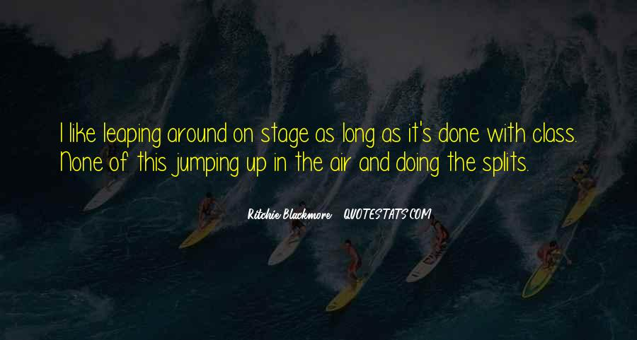 Quotes About Jumping In The Air #1553894