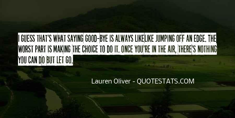 Quotes About Jumping In The Air #1584757