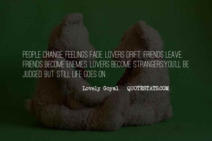 Quotes About Strangers Become Lovers #90817