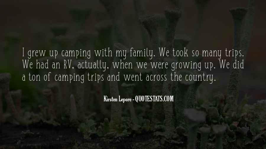 Quotes About Camping #1018611