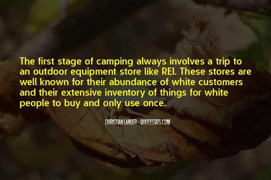 Quotes About Camping #118388