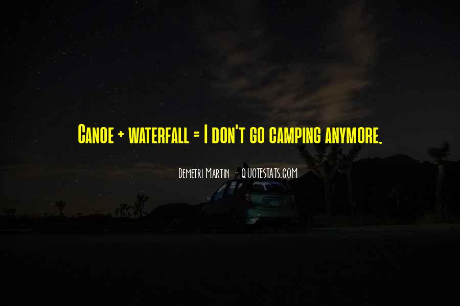 Quotes About Camping #181948