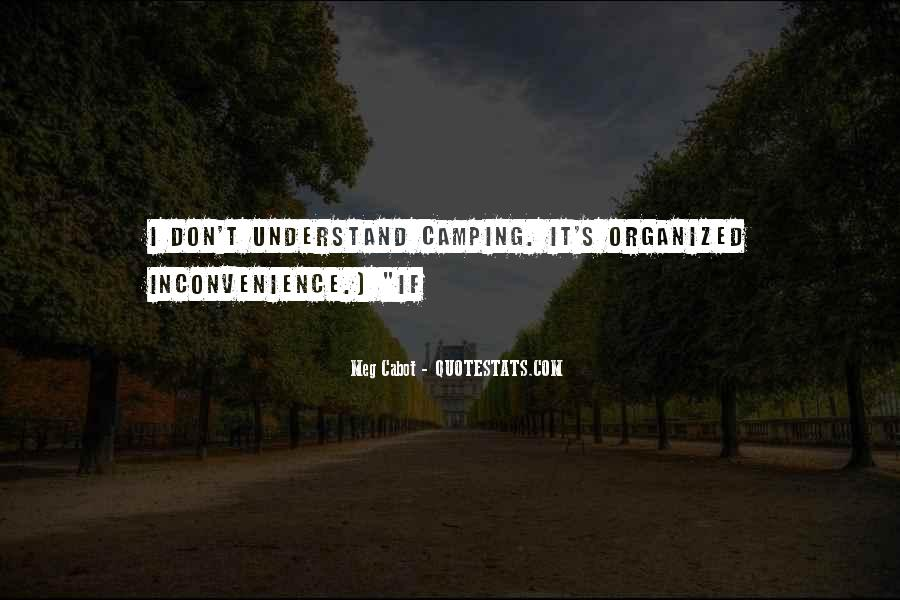 Quotes About Camping #199591