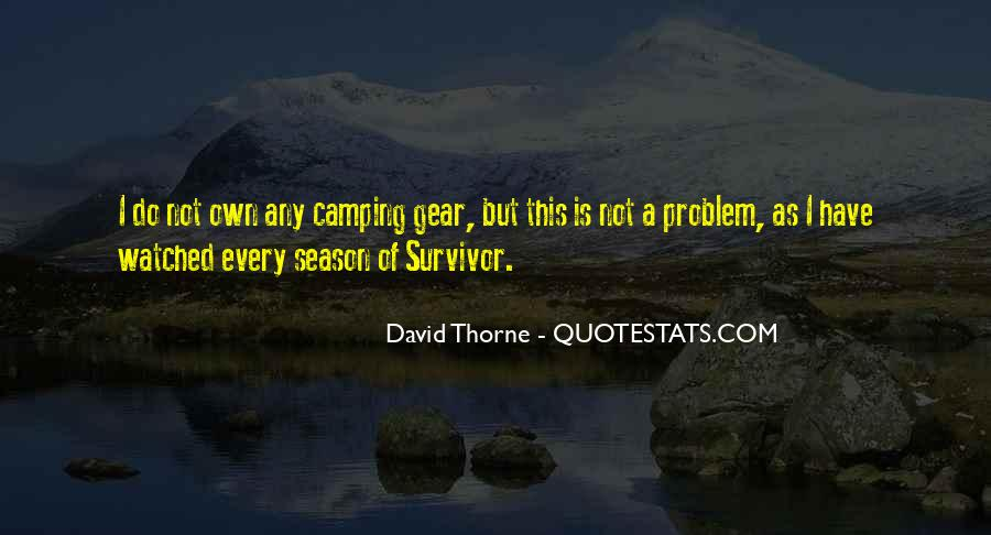 Quotes About Camping #30336
