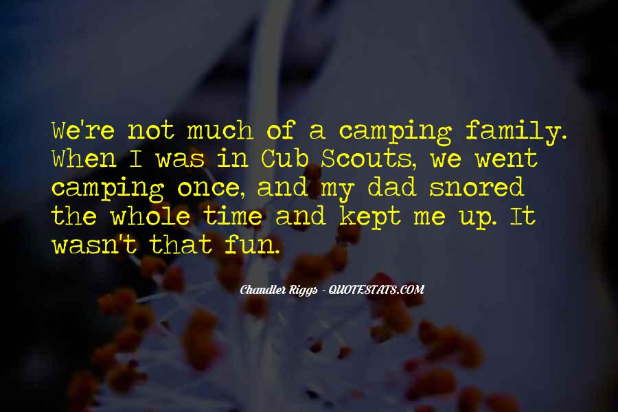 Quotes About Camping #350378