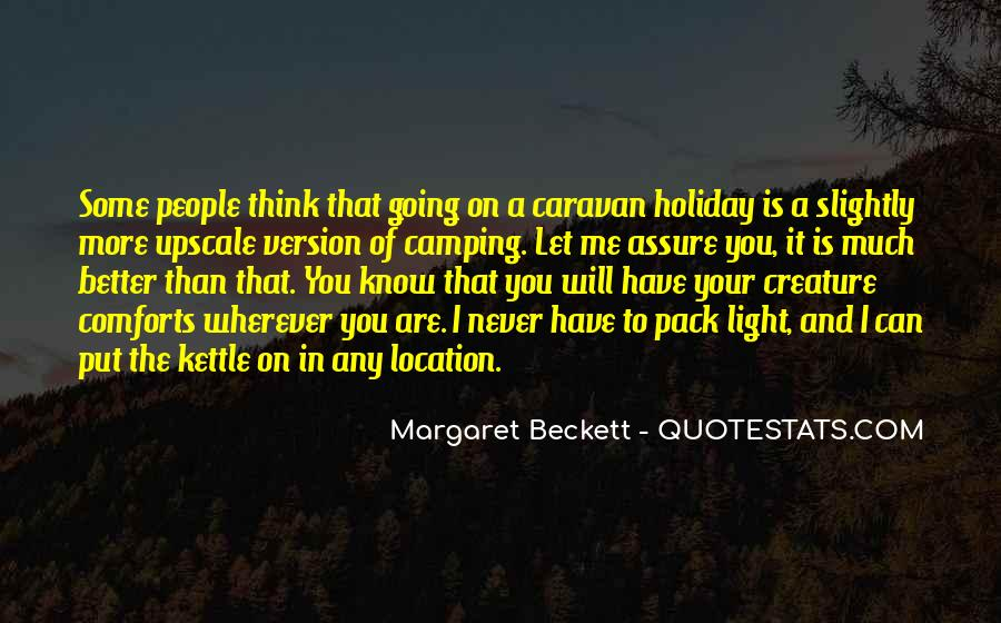 Quotes About Camping #419892