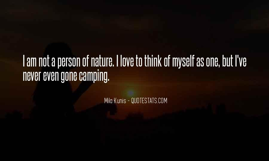 Quotes About Camping #495619