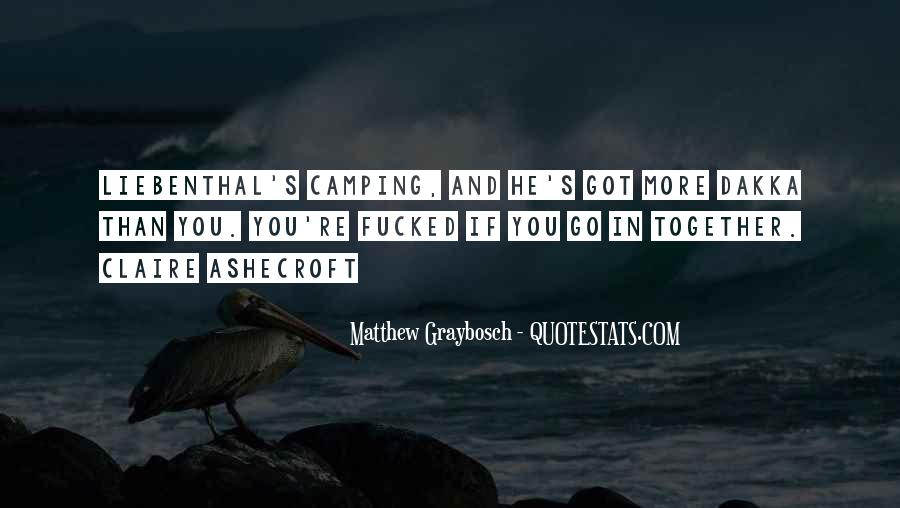 Quotes About Camping #54557
