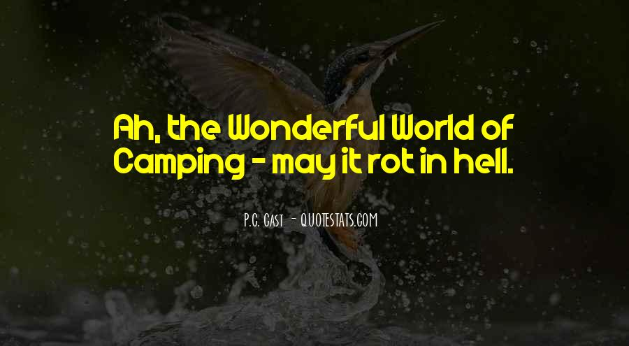 Quotes About Camping #729984