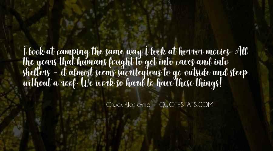 Quotes About Camping #802761