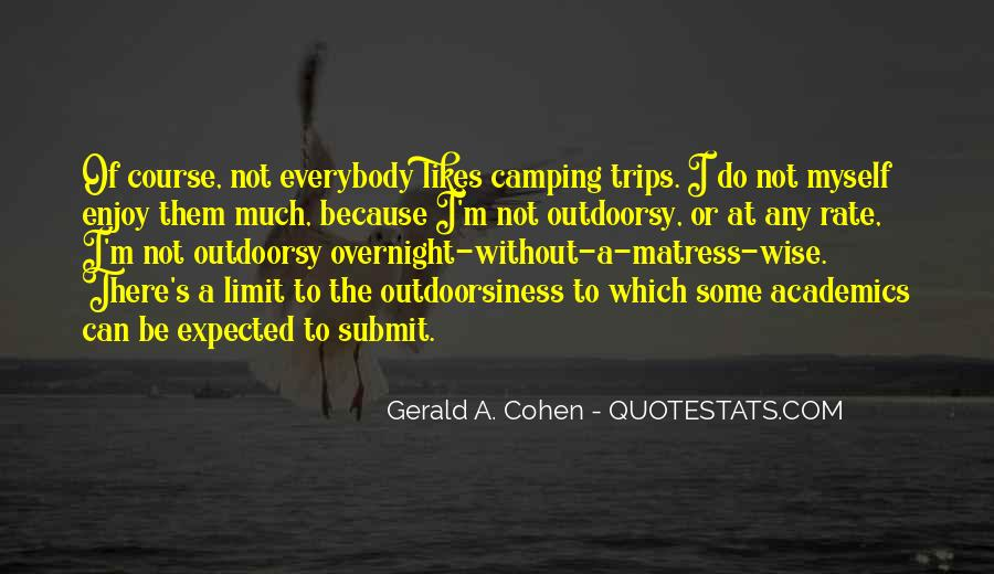 Quotes About Camping #83138