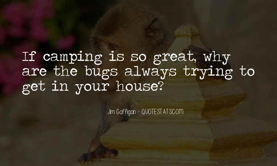 Quotes About Camping #897131