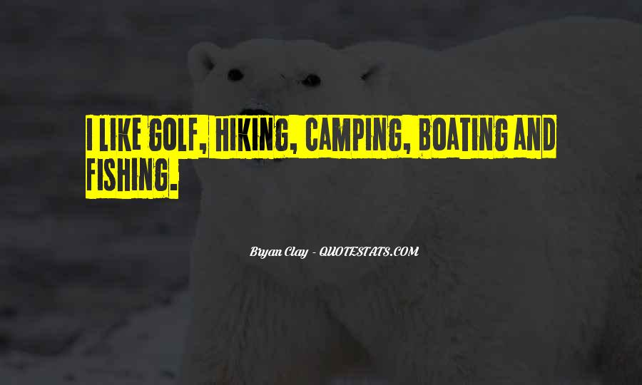 Quotes About Camping #909278