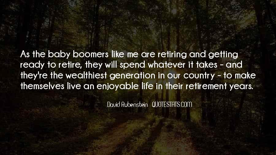 Quotes About Boomers #1366268