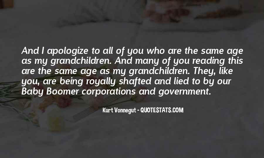 Quotes About Boomers #169666