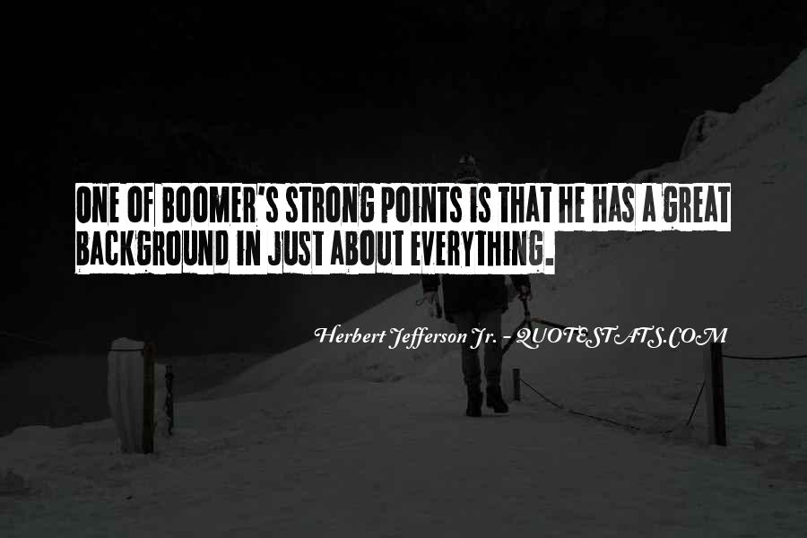 Quotes About Boomers #1733428