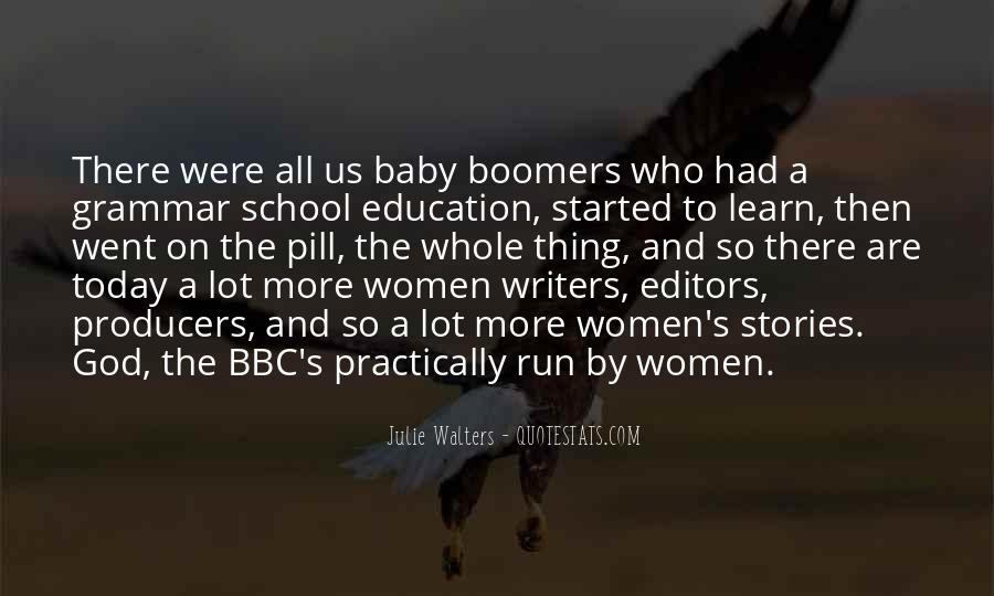 Quotes About Boomers #663052