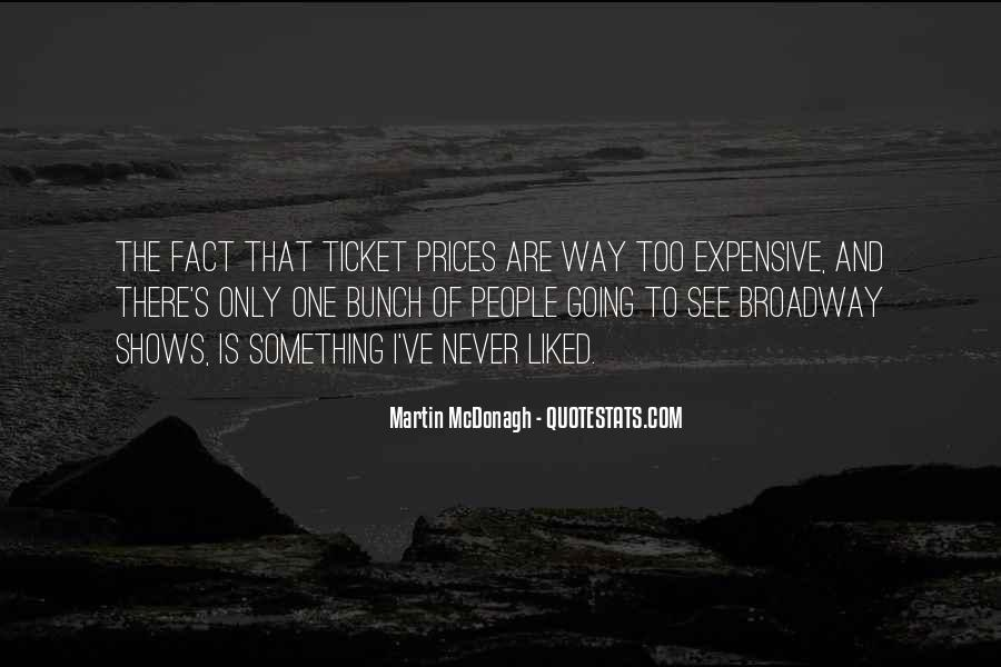 Quotes About Broadway Shows #1654164