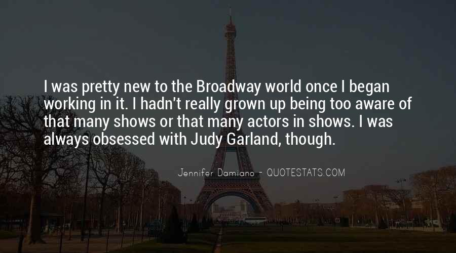 Quotes About Broadway Shows #1743244