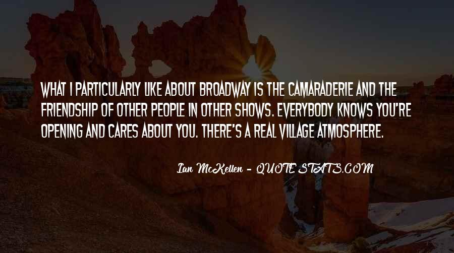 Quotes About Broadway Shows #275092