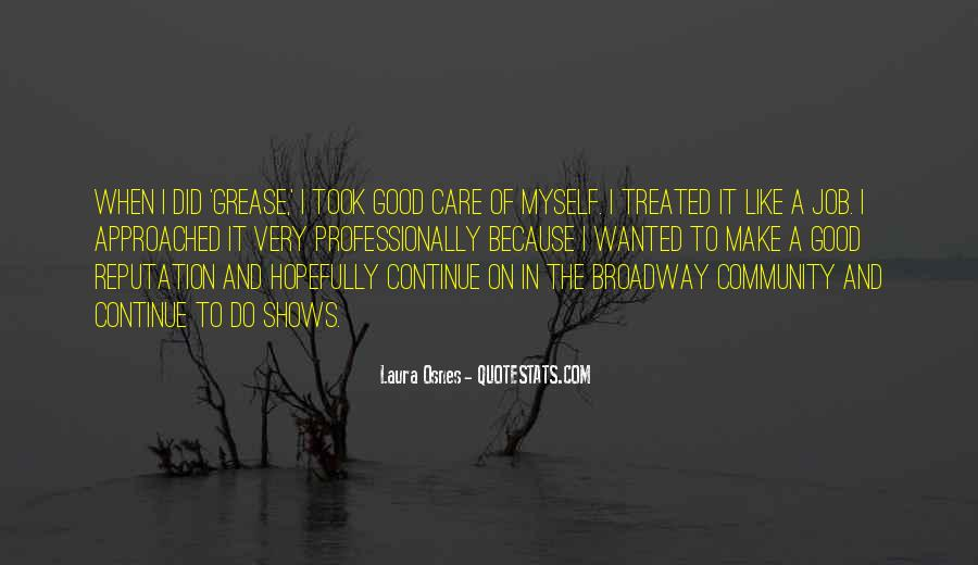 Quotes About Broadway Shows #925027