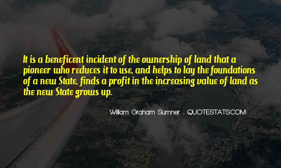 Quotes About Ownership Of Land #224946