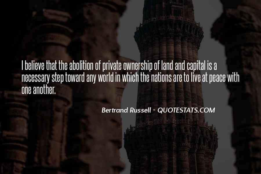 Quotes About Ownership Of Land #293901