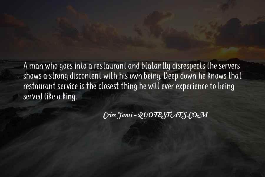 Quotes About Restaurant Servers #1824938