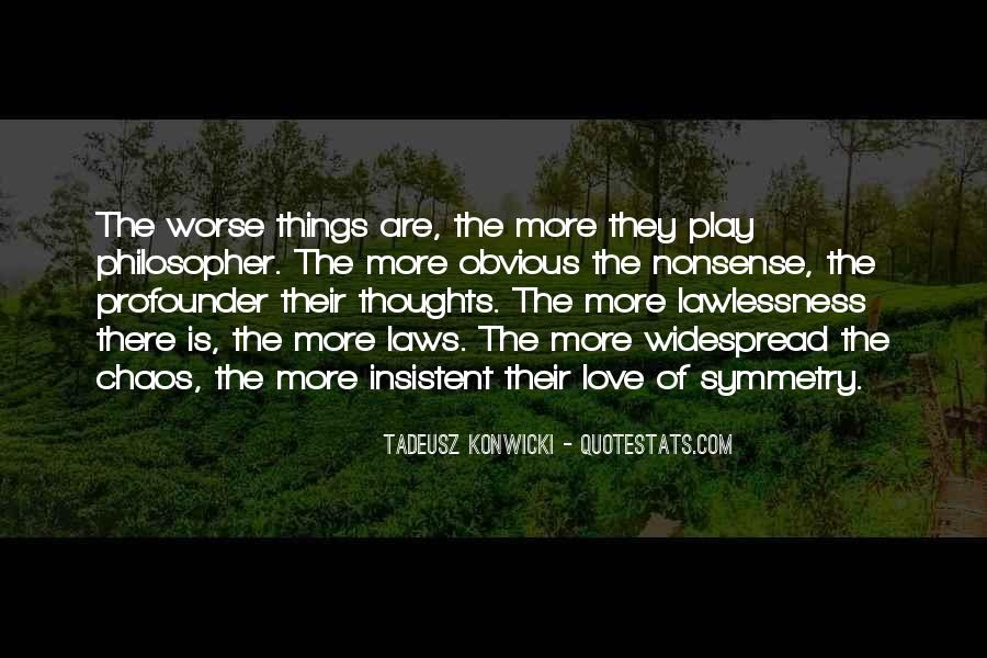 Quotes About Obvious Things #1015060